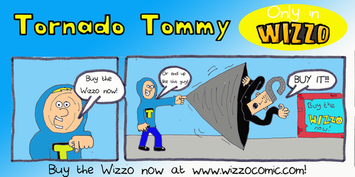 Buy the Wizzo Comic! by Jsb97