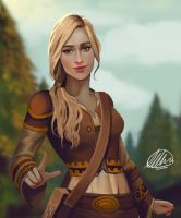 Commission: Piper Marrow by HalChroma