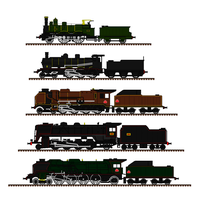 French Steam Locomotives by Andrewk4
