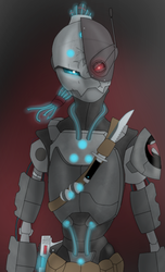 Overwatch fan project (C.T-12 Code Name Panther) by predman1227