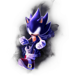 Dark Sonic by Fentonxd