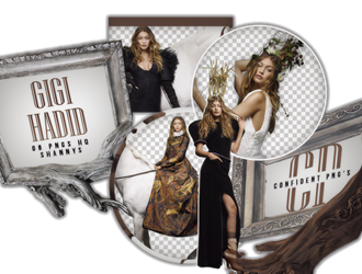 Png Pack 575 // Gigi Hadid by confidentpngs