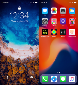 May 2018 iPhone X by AaronOlive