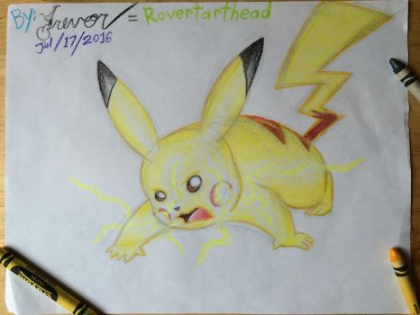 Pika trouble by Rovertarthead
