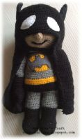 Amigurumi Batman by hund1kene