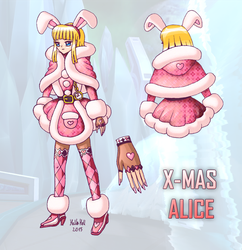 X-mas Alice v2 by HellaFromHell