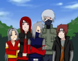 Commission: Hatake Family by Chloeeh