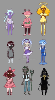 AESTHETIC MYSTERY ADOPTS // REVEALED by i-kon