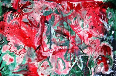 Abstract Painting 2 - 2009 by Nails43