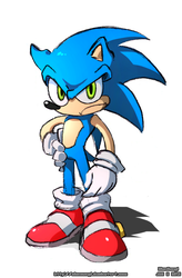Sonic the Something by SootToon