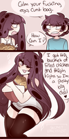 SS: #18 Fried Chicken and  Thighs High by SecretNarcissist