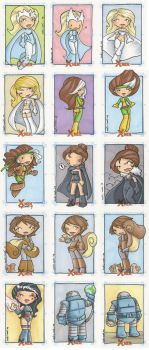 x-men archives 3 by katiecandraw