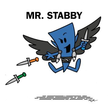 Mr Stabby by Raphael2054
