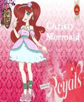 EAH Royal OC: Christy Mermaid by MissMonahell