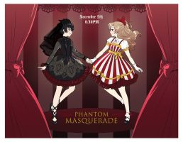 Phantom Masquerade and Kawaii Market by zambicandy
