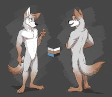 Commission: Alex's Reference Sheet by Temiree