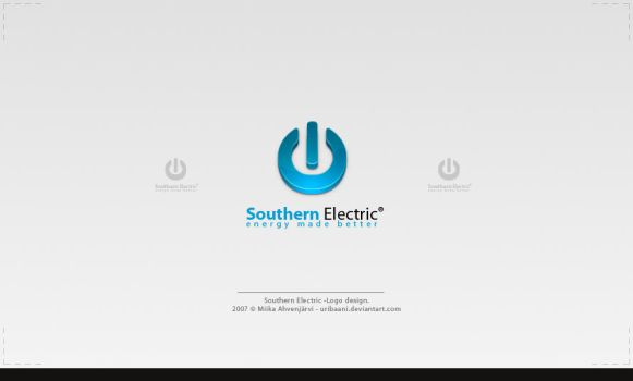 Southern Electric -Logo Design by Uribaani