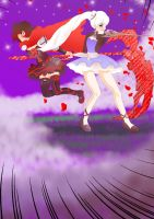Ruby N Weiss by Himawar1