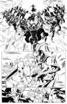 RED SONJA comic page -video in YouTube- by CarlosGomezArtist
