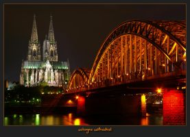 cologne cathedral by oetzy