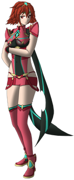Minerva - Pyra's outfit by ThePontusAndersson