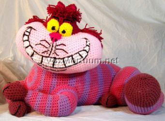Cheshire Cat Tribute Doll by voxmortuum