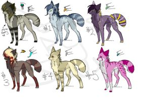 DESIGNS UP FOR ADOPTION 1 by Sauxifying