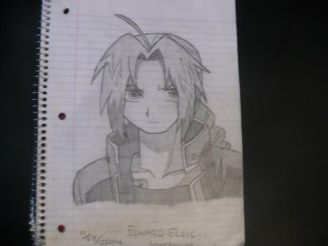 Edward Elric by Mystic--X