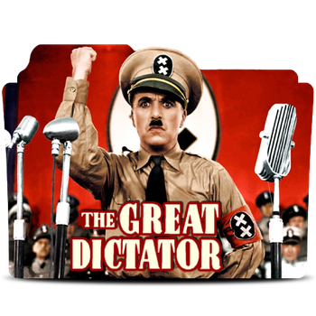 The Great Dictator(1940) Folder Icon by bedobaho