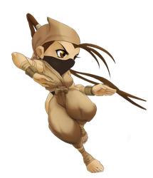Chibi Ibuki Pose 1A by Rhykross