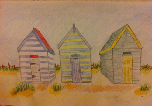 Beach Huts by lietomelapin