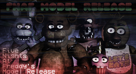 Five Nights At Freddy's 1 Model Kwanzaa UPDATE 2 by TheBoofster