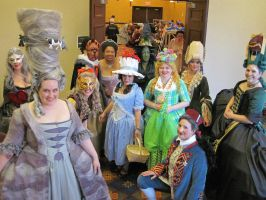 Costume Con 32, The Ladies of Oz by brightling
