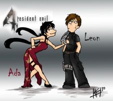 Leon and Ada by Mirian