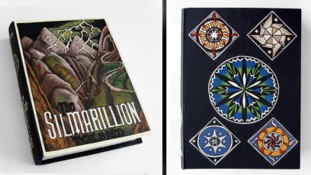 The Silmarllion: hideaway book box by RFabiano