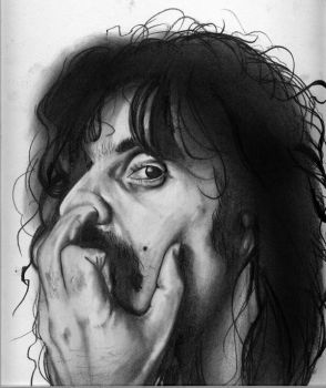 Frank Zappa by angelazilla