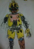 Freddy's Twisted Encore - Cremated Chica by FreddleFrooby