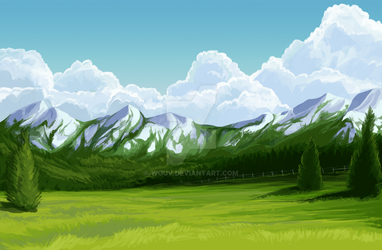 BG commission by Wouv