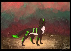 Zel-the-Wolf Commission by Zel-the-Wolf