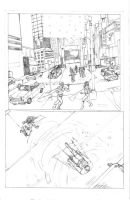 Brink Page 1 Finished Pencils by JBEmmett
