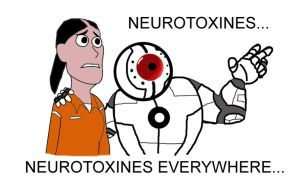 neurotoxines everywhere by paskiman