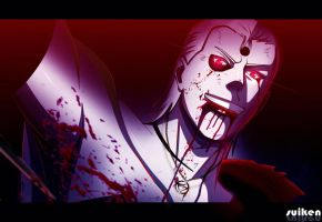 Hidan bloody smile by suiken22 by suiken22