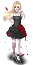 so many roses for a girl named lily by Lantttu
