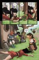 Rat Queens #1 pg 05 by johnnyrocwell