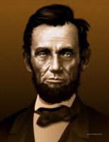 Vector portrait of Abe Lincoln - Affinity Designer by rageofreason