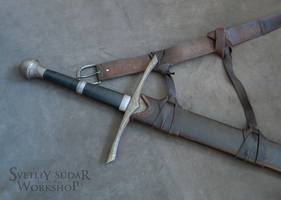 Mercenary's equipment - The scabbard for a sword by Svetliy-Sudar