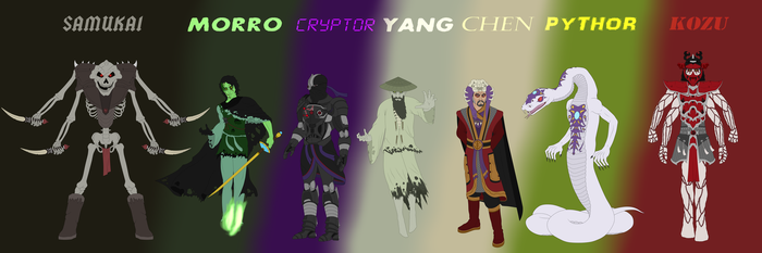 The Villains of Ninjago by BobBricks