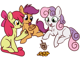 Delicious Gelt by lulubellct
