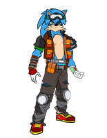 Sonic Redesign by Generalorder4