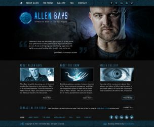 Allen Bays website by Stephen-Coelho